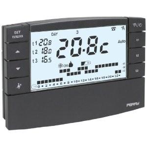 Perry zefiro il cronotermostato settimanale digitale for Perry termostato manuale